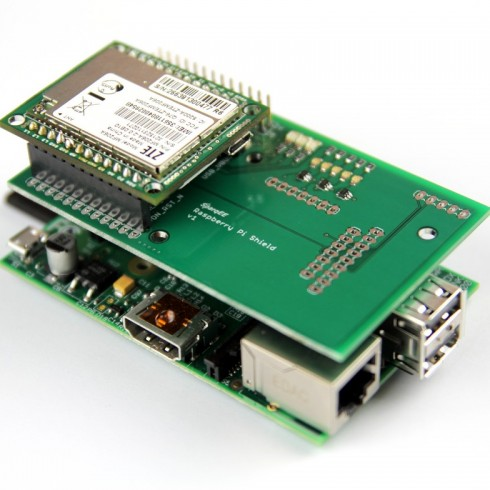 Raspberry Pi Shield